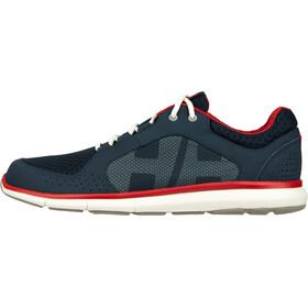 Helly Hansen Ahiga V4 Hydropower Shoes Men, azul/rojo
